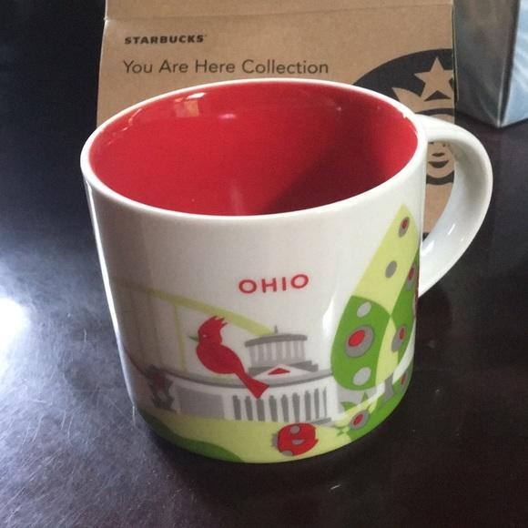 New Starbucks Ohio Collectors Mug